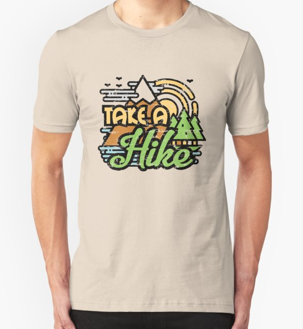RedBubble: Take A Hike