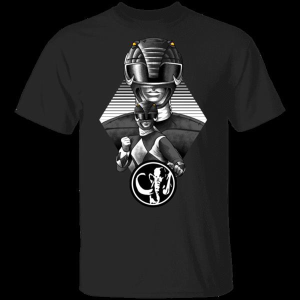 Pop-Up Tee: Black Ranger