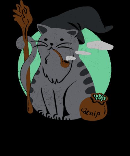 Qwertee: Cat Gandalf