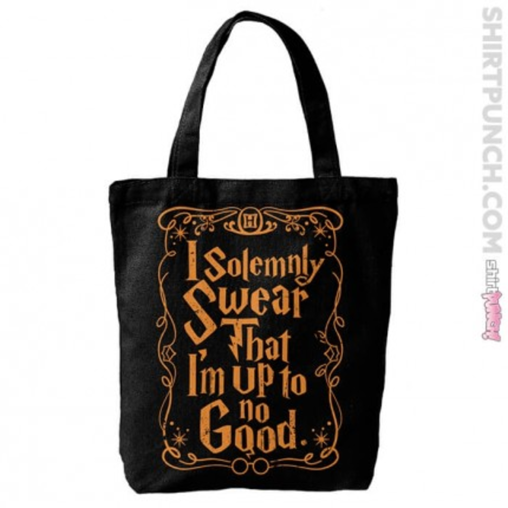 ShirtPunch: I Solemnly Swear Tote Bag