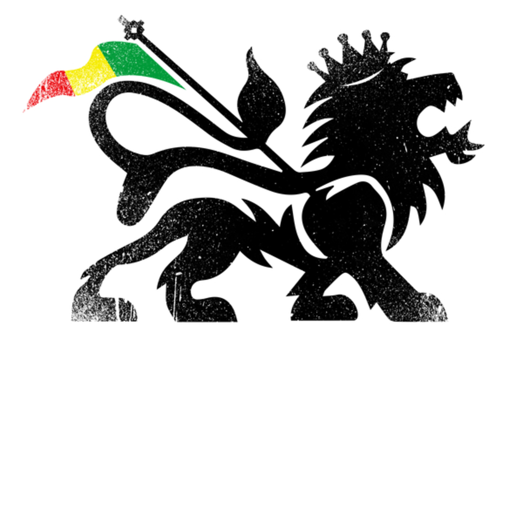 NeatoShop: Lion of Judah - Ethiopia Flag - Reggae