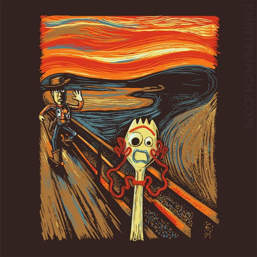 ShirtPunch: Screaming Forky