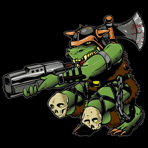 NeatoShop: Reptile Warrior