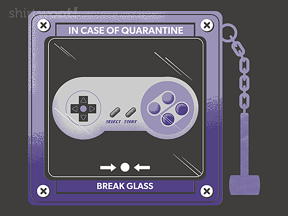 Woot!: In Case of Quarantine, Bring the Controller