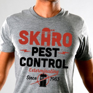 SnorgTees: Skaro Pest Control Limited Edition Tri-Blend