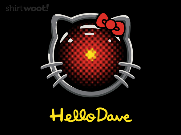 Woot!: Hello Dave - $8.00 + $5 standard shipping