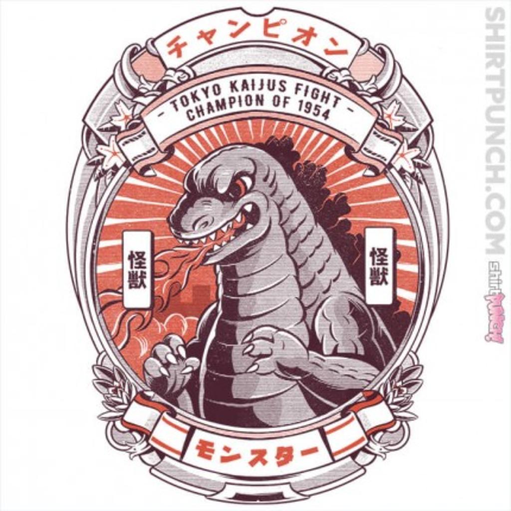 ShirtPunch: Tokyo Kaijus Club