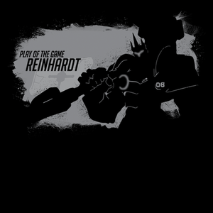 Pop-Up Tee: Play of the Game Reinhardt