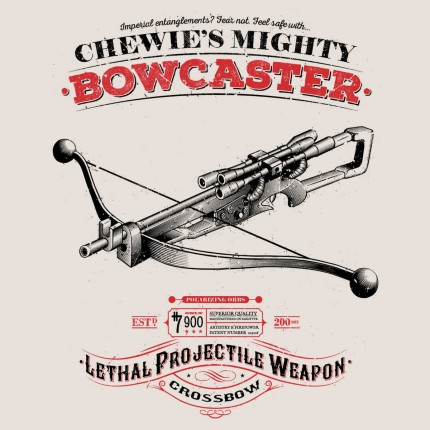 ShirtPunch: The Mighty Bowcaster