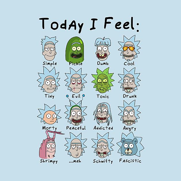 TeePublic: Today I Feel Rick