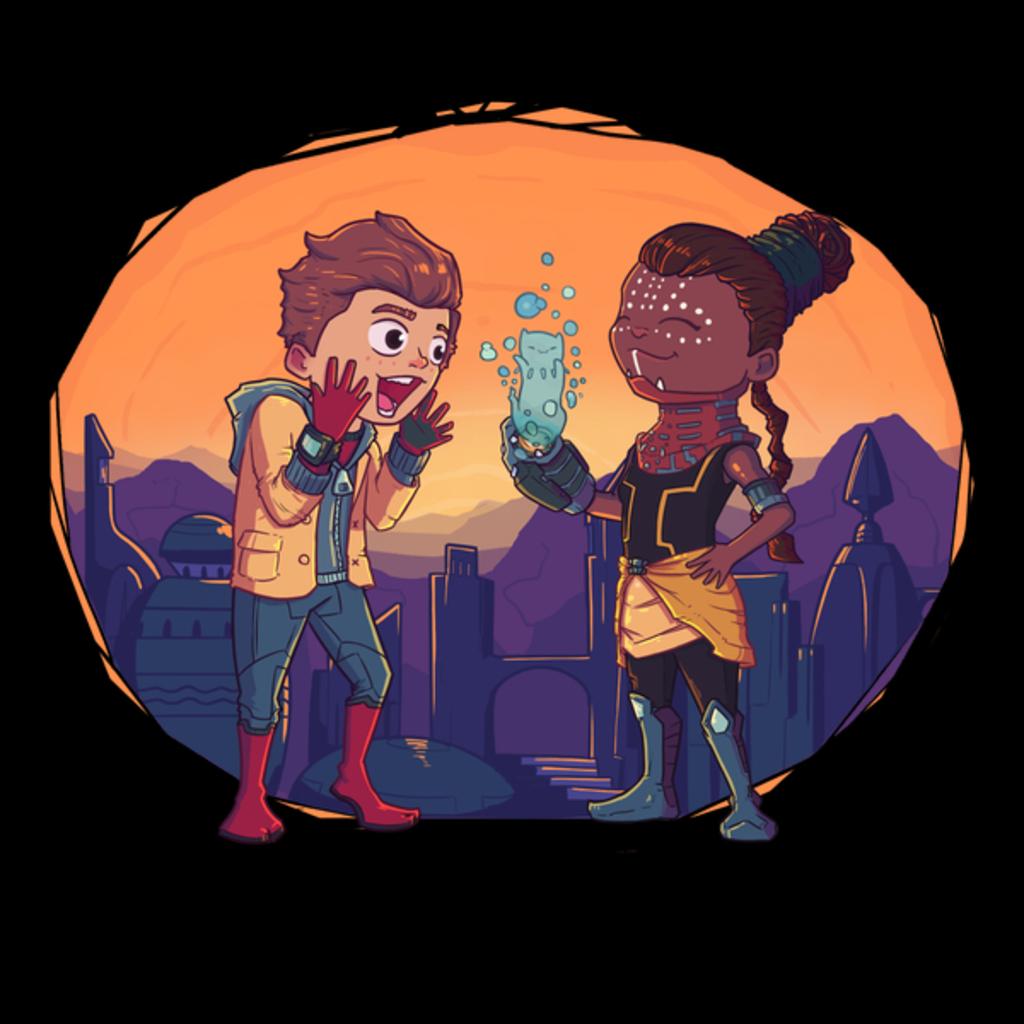 NeatoShop: Peter and Shuri