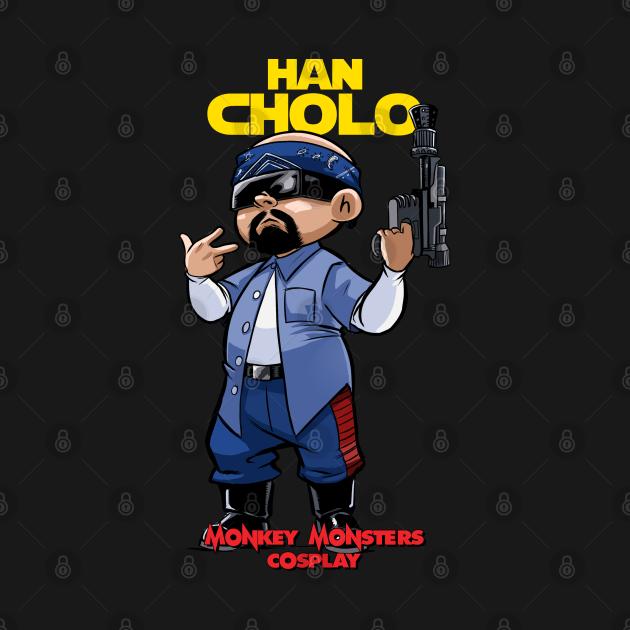TeePublic: Han Cholo Estar Guars
