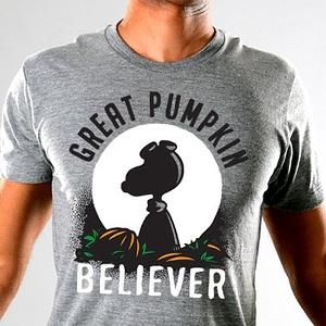 SnorgTees: Great Pumpkin Believer Tri-Blend