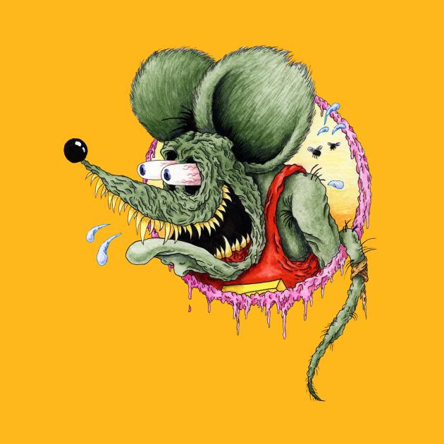 TeePublic: Classic Rat Fink
