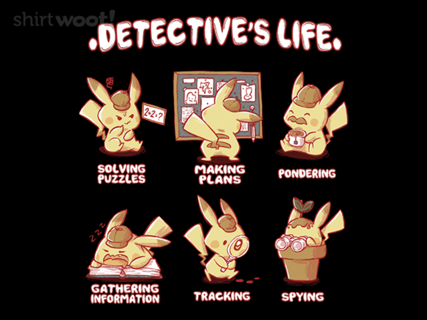 Woot!: Detective's Life