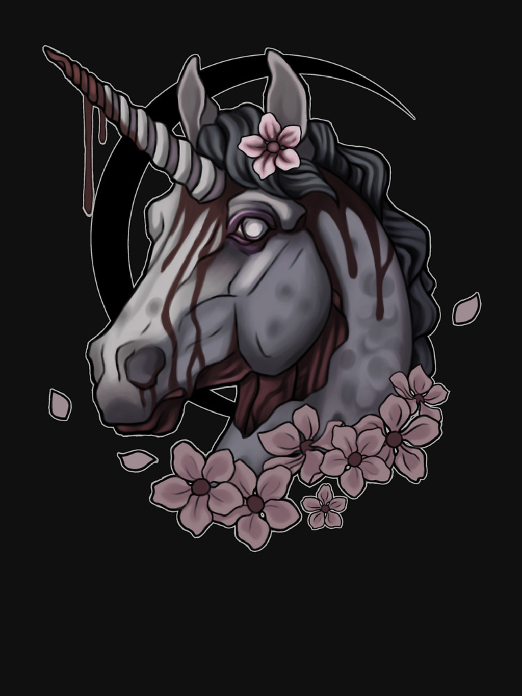RedBubble: Zombie Unicorn