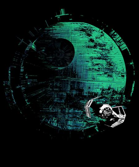 Qwertee: Dark Planet