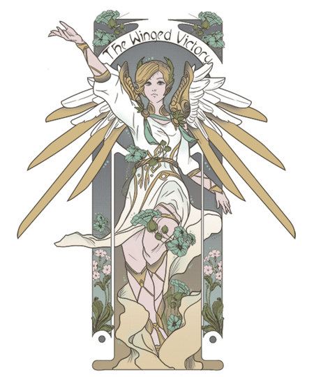 Qwertee: The Winged Victory
