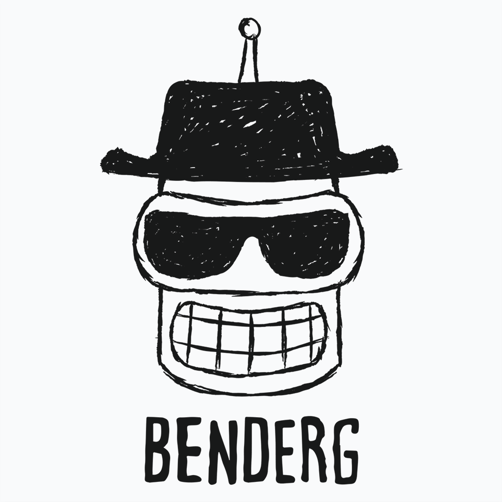 Pop-Up Tee: Benderg