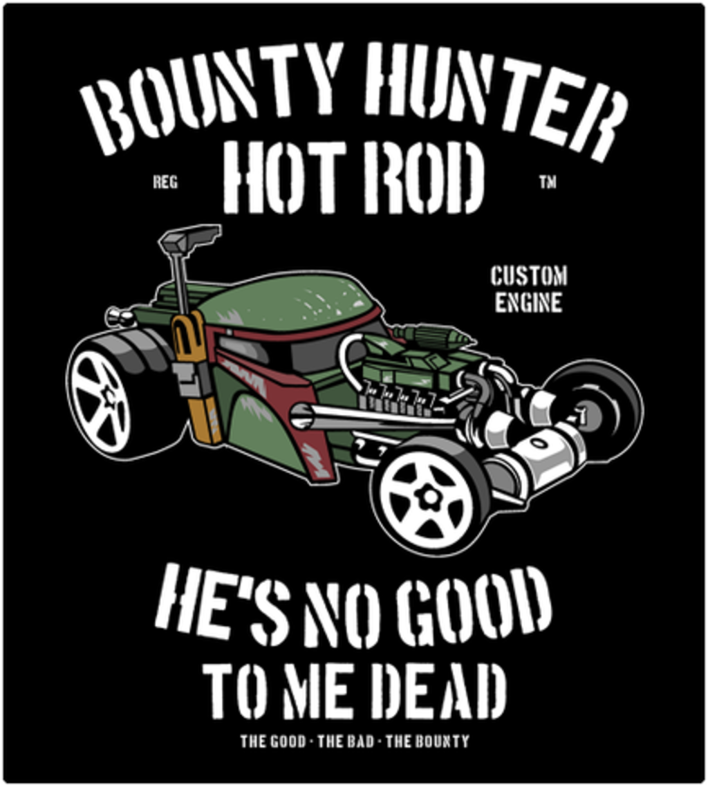 Shirt Battle: Bounty Hunter Hot Rod