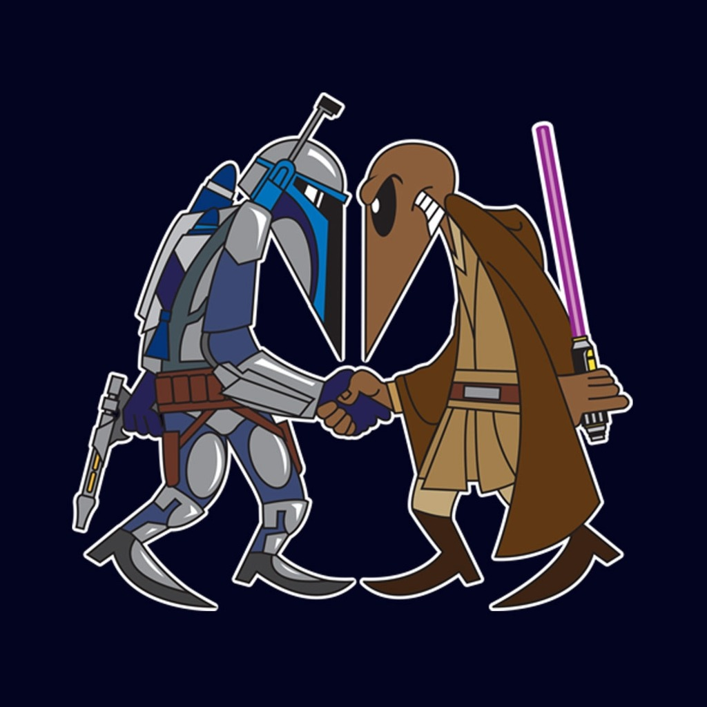 TeeTournament: MANDALORIAN VS JEDI