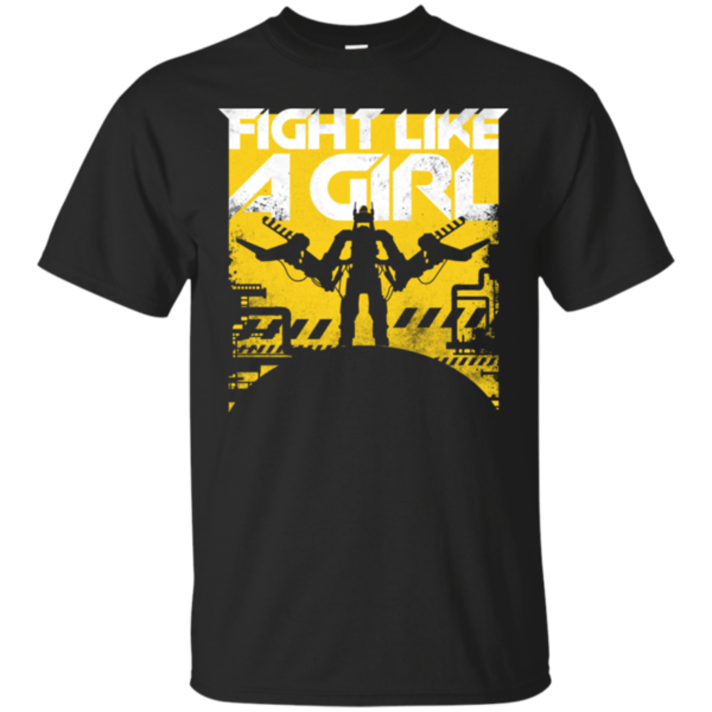 Pop-Up Tee: Fight Like A Girl