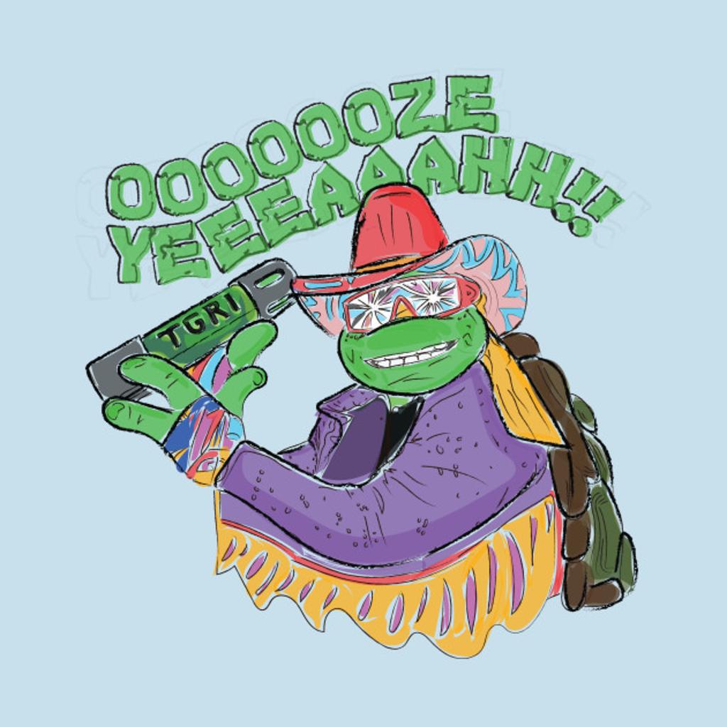 TeePublic: Teenage Macho Madness Turtles