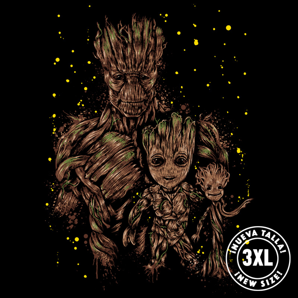 Pampling: The Evolution of Groot