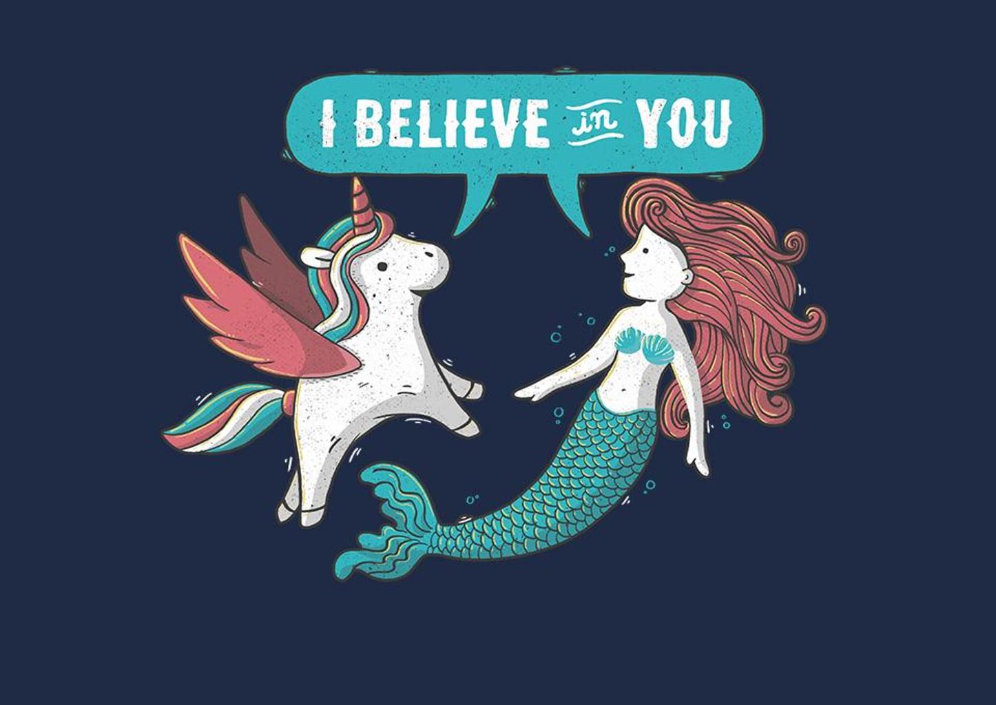 TeeFury: I Believe In You