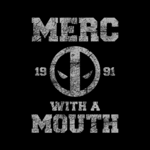 Five Finger Tees: Merc With A Mouth T-Shirt