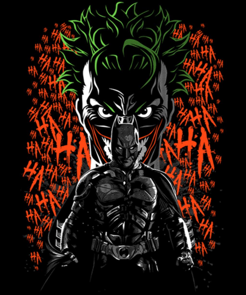 Qwertee: Dark Clown