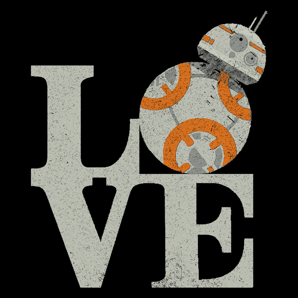 Pop-Up Tee: Love Droids