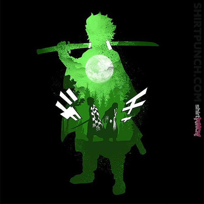 ShirtPunch: Tanjiro Kamado