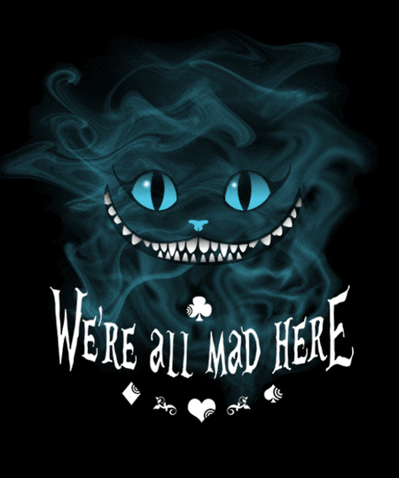 Qwertee: Mad Cheshire