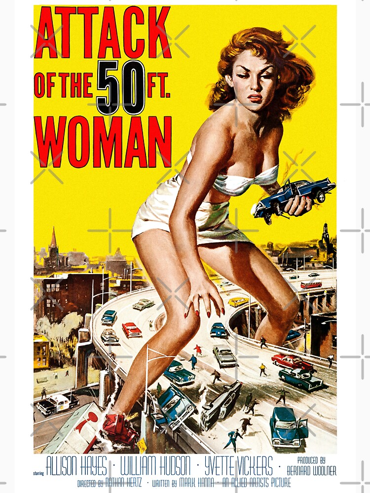 RedBubble: Attack of the 50 Ft. Woman (1958)