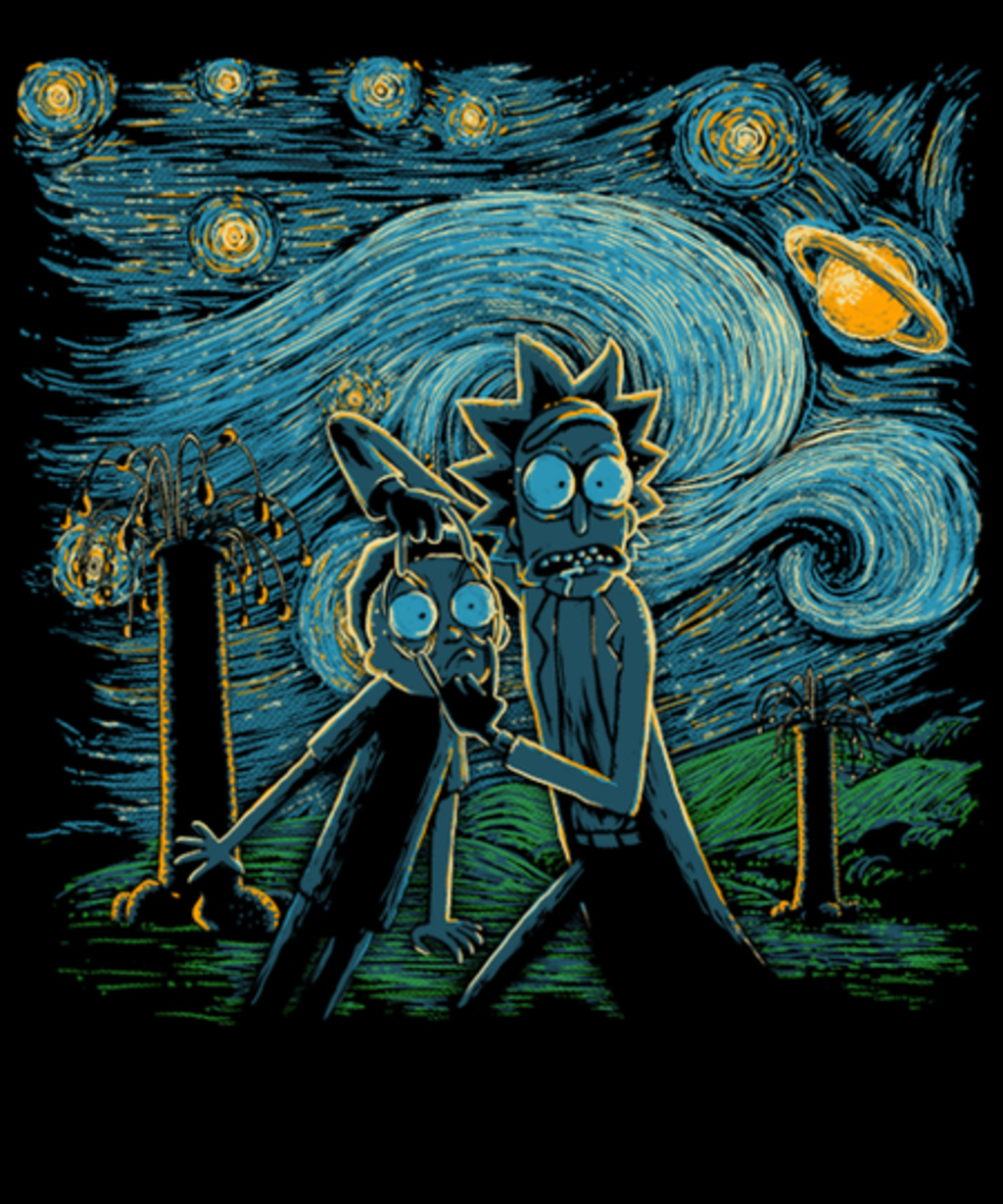 Qwertee: Starry Science