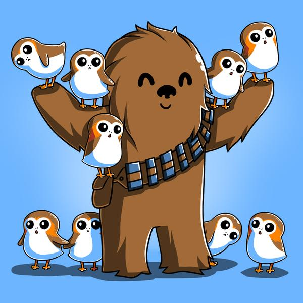 TeeTurtle: Chewie and Porgs