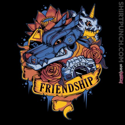 ShirtPunch: Digital Friendship