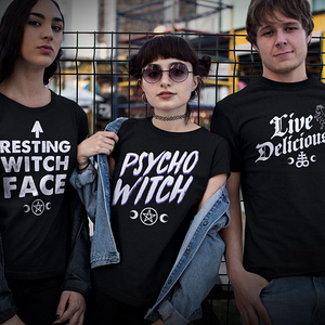 teeVillain: Psycho Witch