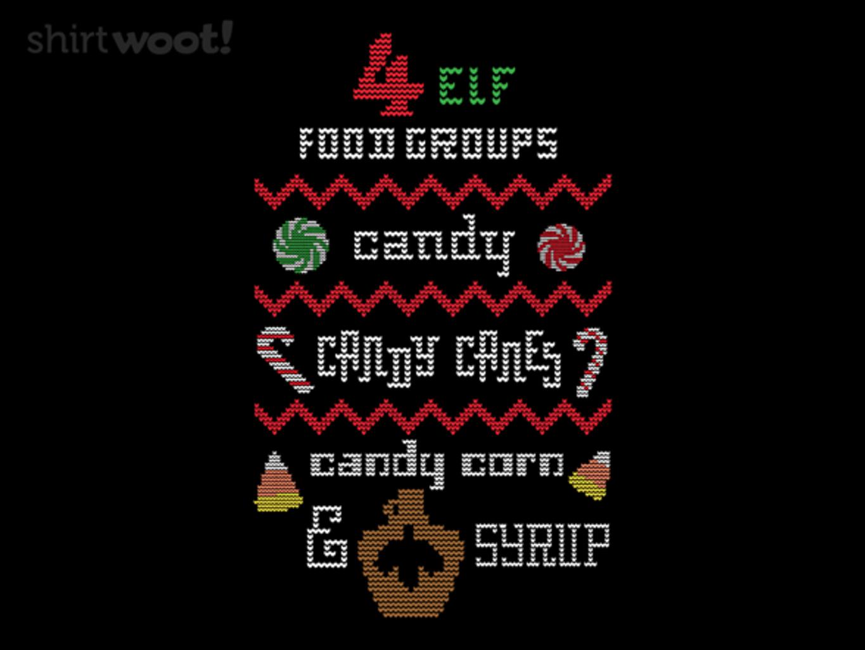 Woot!: 4 Elf Food Groups