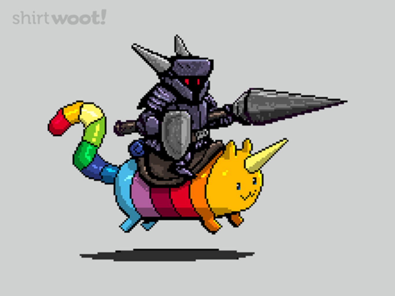 Woot!: Rainbow Cat and the Dark Knight - $15.00 + Free shipping