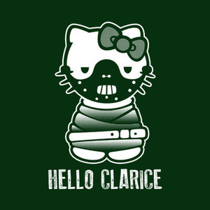 Five Finger Tees: Hello Clarice T-Shirt