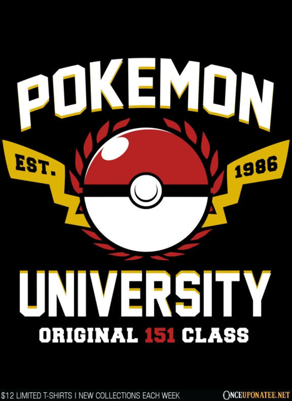 Once Upon a Tee: Pokemon University