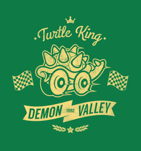 BustedTees: Turtle King