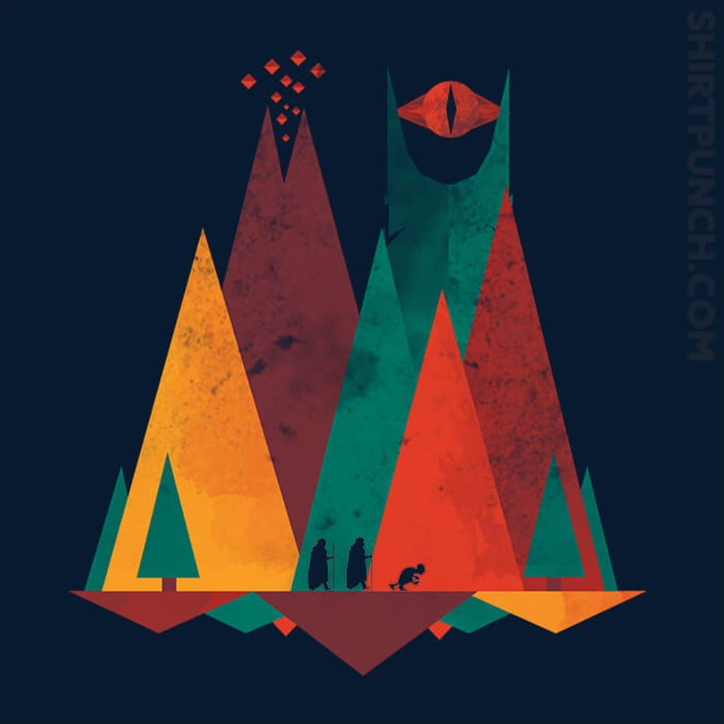ShirtPunch: Geometric Middle Earth