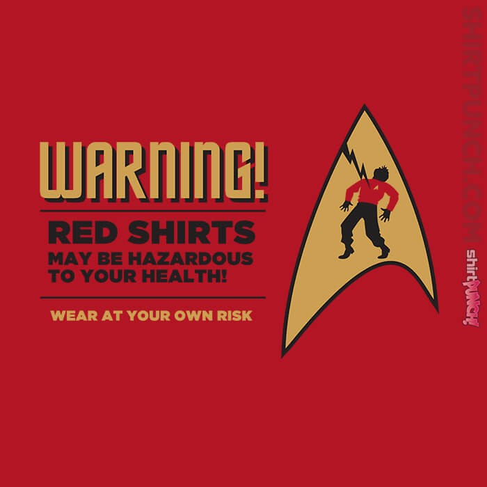 ShirtPunch: Red Shirts