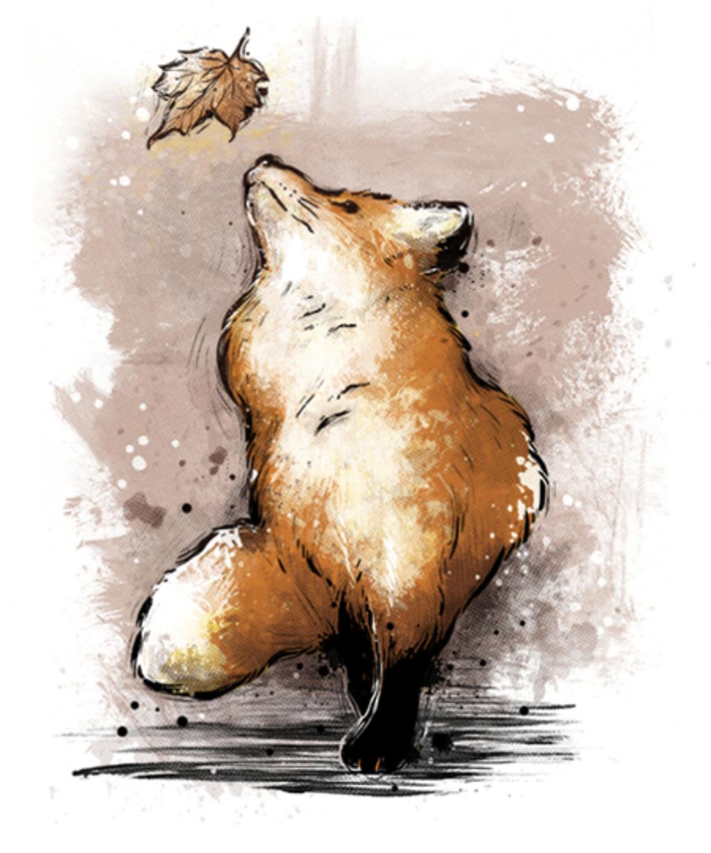 Qwertee: Autumn Fox