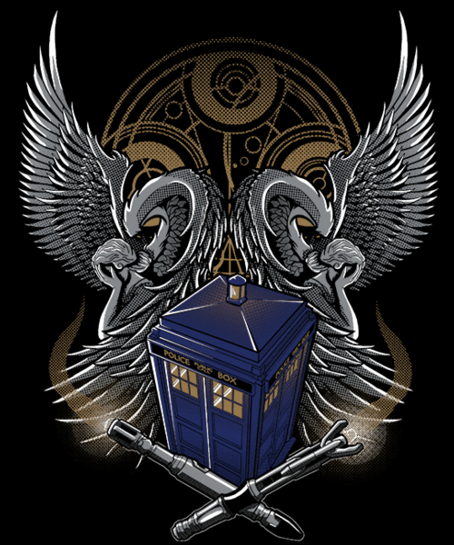 Qwertee: Timelord and Proud