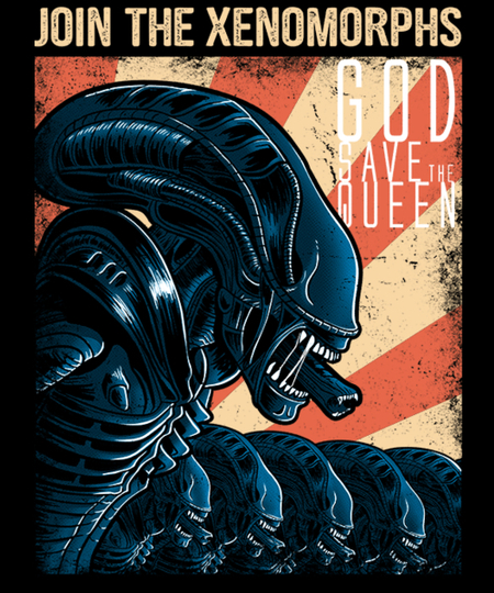Qwertee: Join the xenomorphs