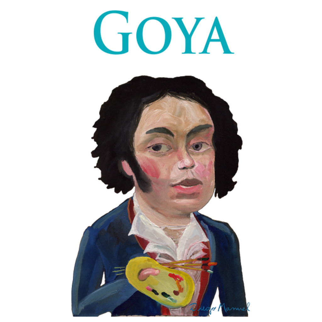 NeatoShop: Francisco de Goya portrait b